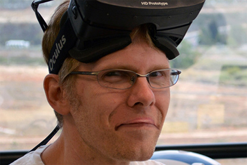 John Carmack with Oculus VR