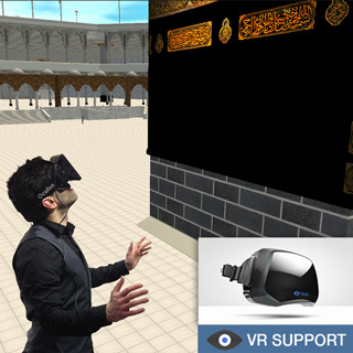 Mecca 3D with VR Support