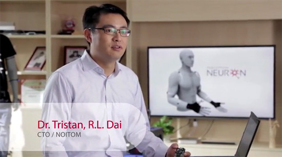 Dr Tristan RL Dai the CTO of Noitom