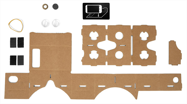 Google Cardboard DIY Kits