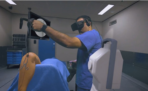 Surgical Training using Osso VR