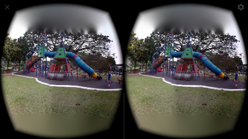View In VR Mode