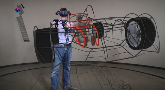 Ford using Gravity Sketch for VR