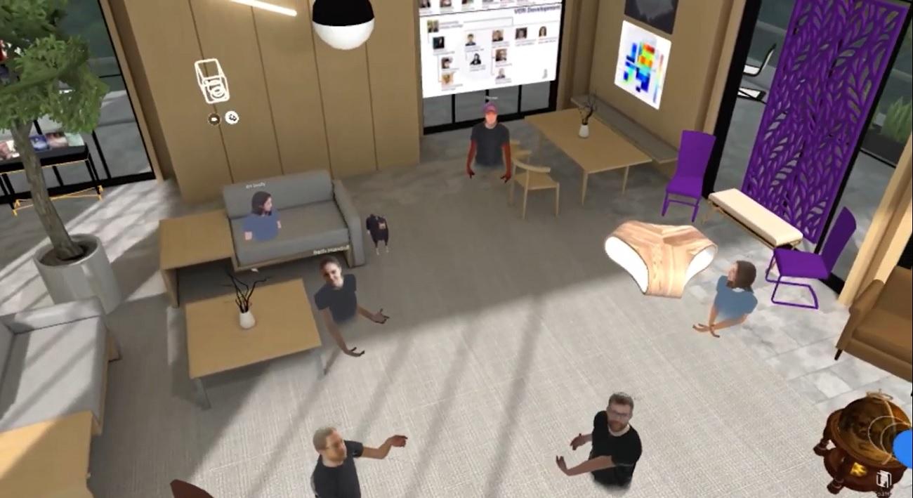 LARVOL VR Office in Spatial